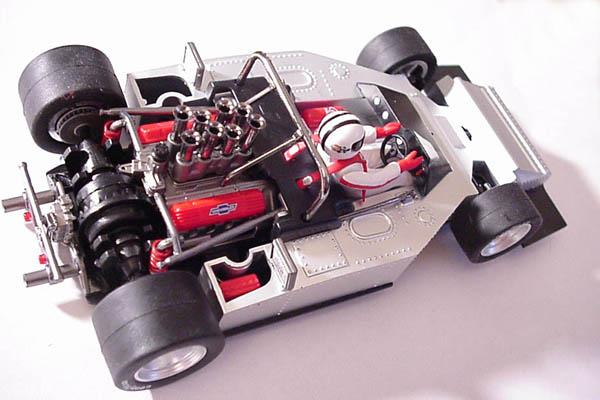 Maxi Models MX-001 McLaren M6 Denny Hulme and Bruce McLaren