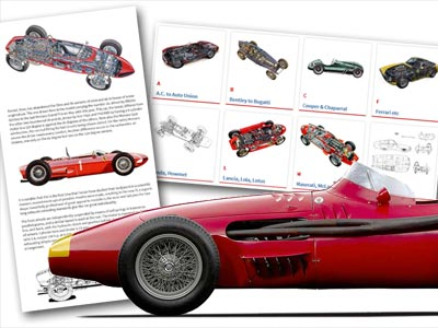 Pictures and plans of classic cars
