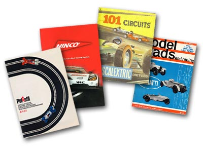 Slot car catalogues