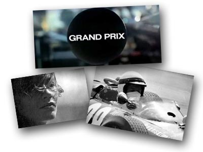 Scenes from the film Grand Prix