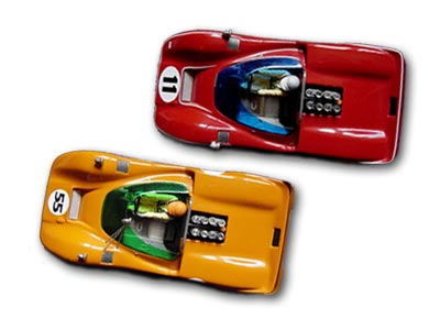 Two Maxi Models slot cars