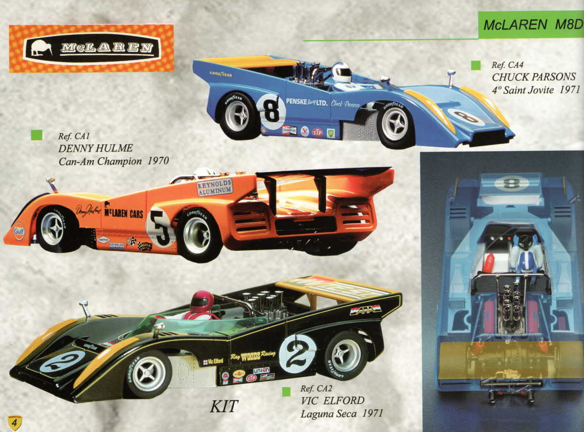 Vanquish Catalogue 2003 page 6