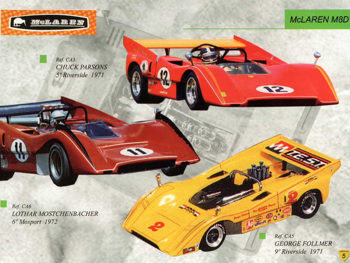 Vanquish Catalogue 2003 page 7