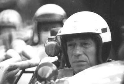 Yves Montand in the cockpit