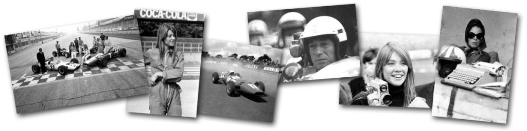 Unseen publicity and behind the scenes shots from Grand Prix