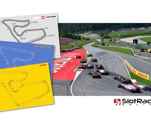 F1 track plans of Spielberg