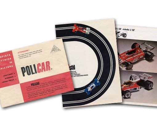 Policar and Polistil catalogue pages