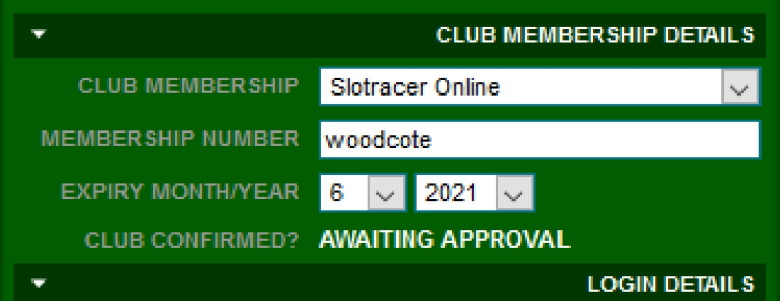 MRE website screenshot showing the membership form