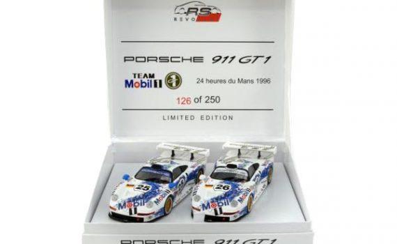 RevoSlot Porsche 911 GT1 Le Mans 1996 twin pack