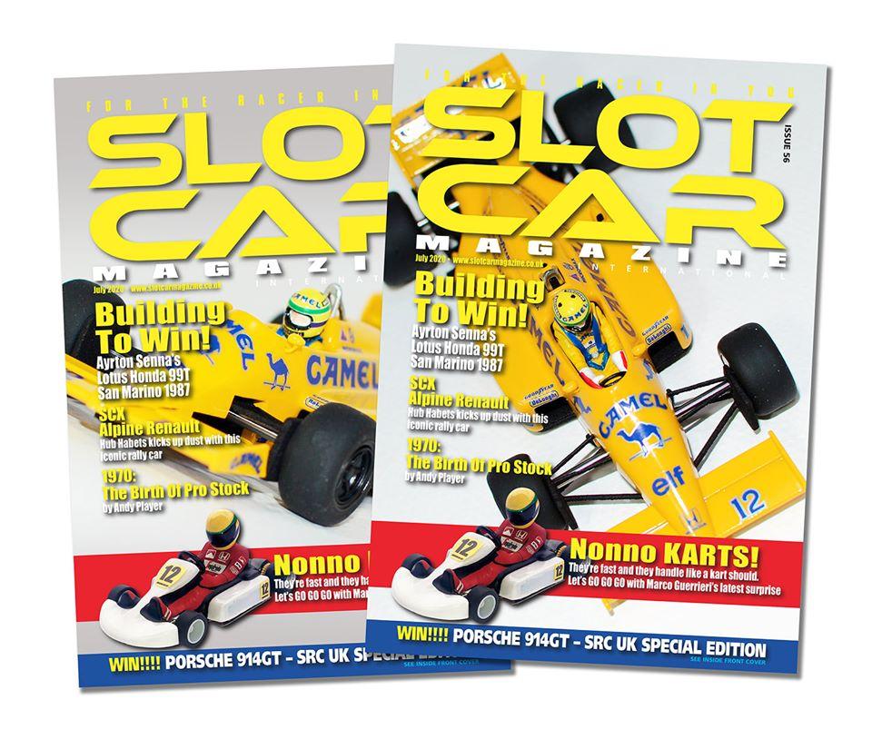 Slot Car Magazine July 2020