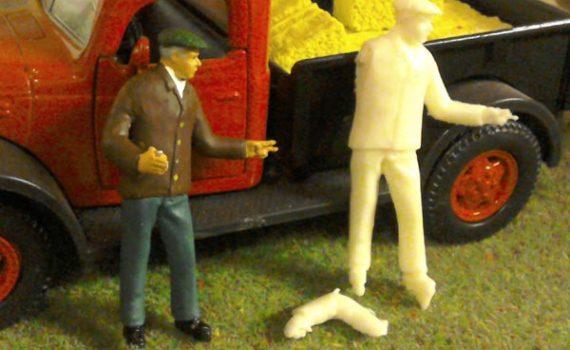 1/32 scale spectator figure
