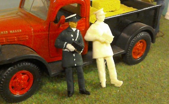 1/32 scale policeman