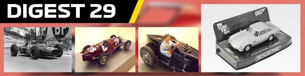 Digest 29, Le Mand Miniatures Bugatti, BRM, and Aston Martin DB5