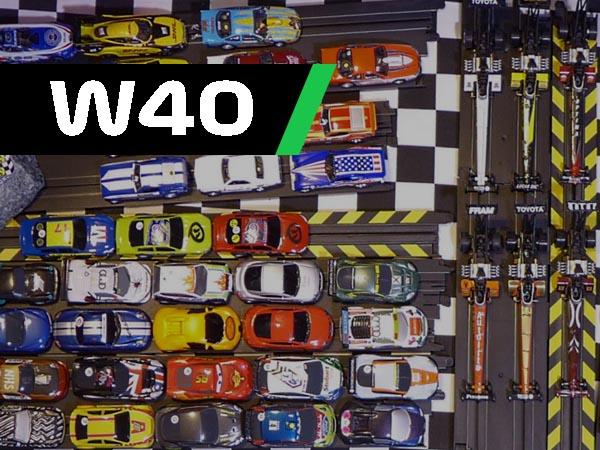 Digest W40, HO scale drag cars