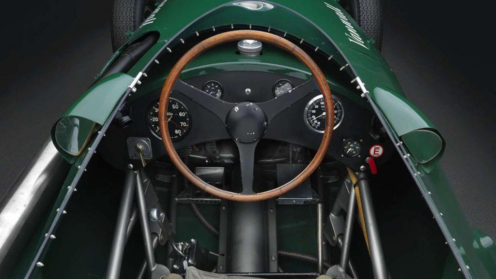 Vanwall cockpit
