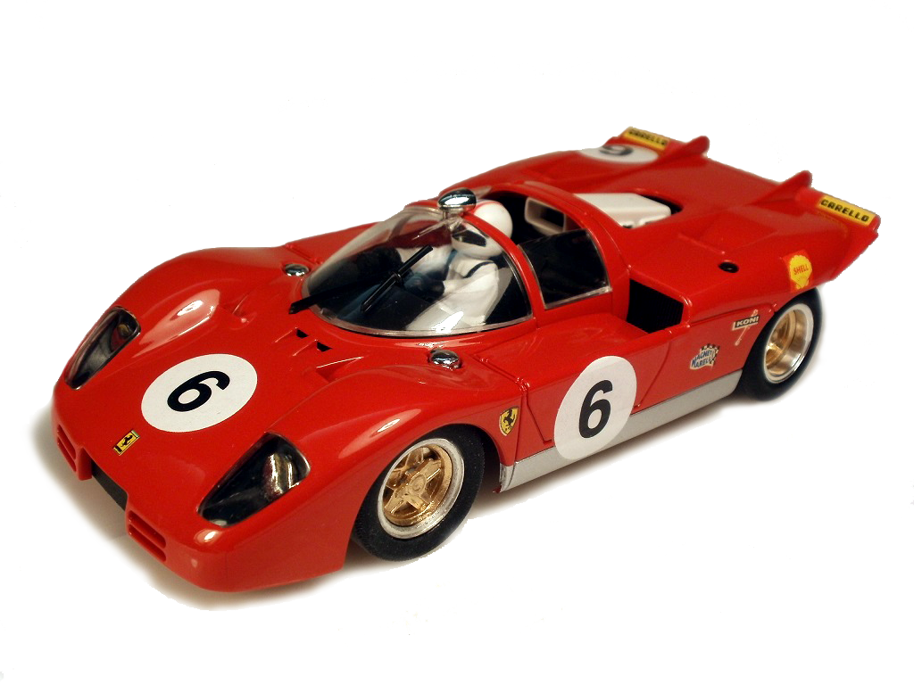 Ferrari 512 scratch built slot car