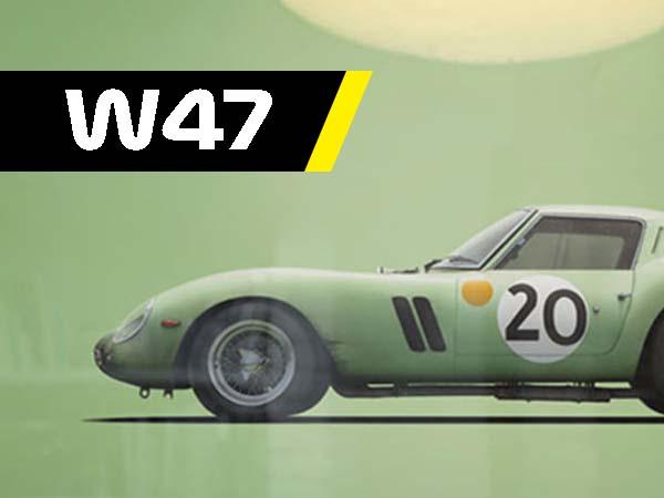 W47, Ferrari poster