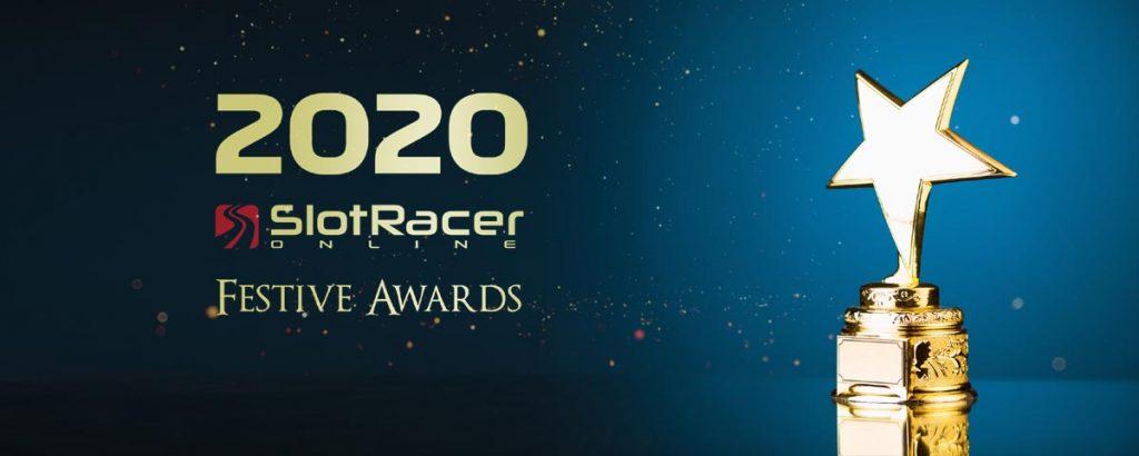 2020 slot racer online festive awards trophy