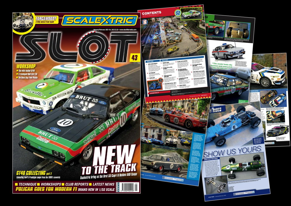Slot Magazine cover and pages