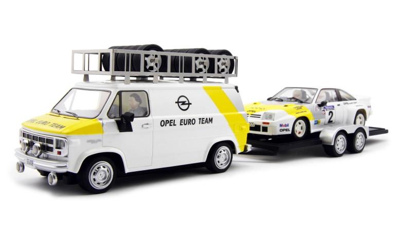 Opel Team car, van & trailer