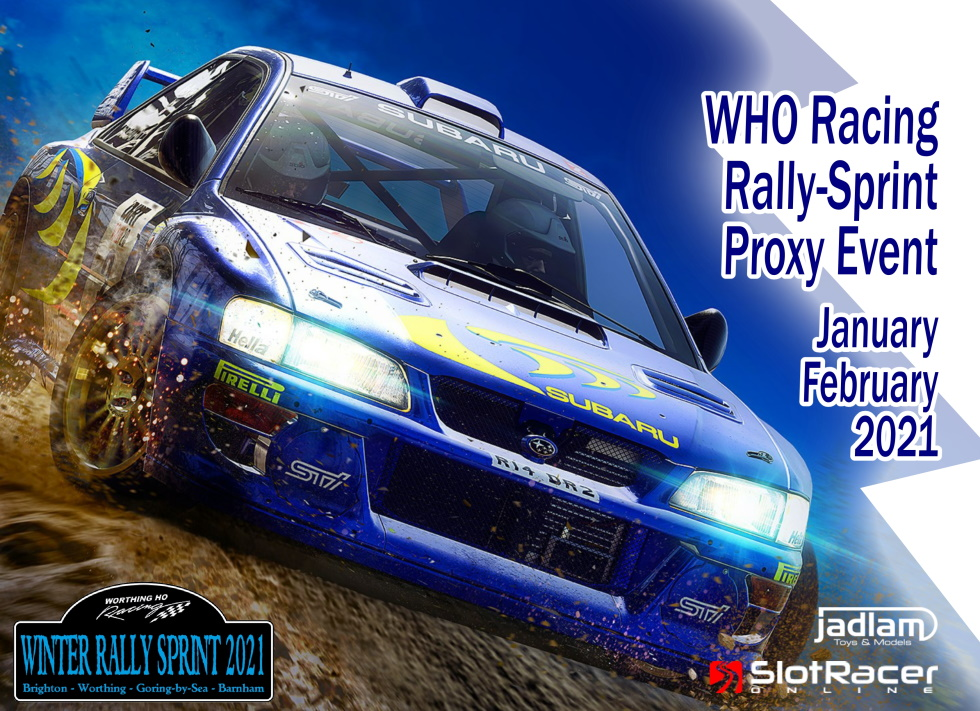 WHO Racing Rally Sprint Proxy poster