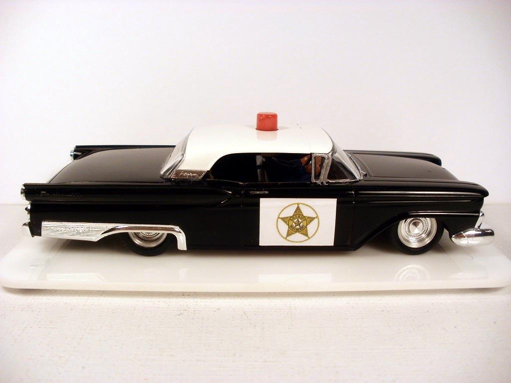 1959 Fairlane 500 Skyliner Police Cruiser
