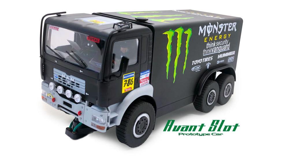 Avant Slot MAN Dakar truck