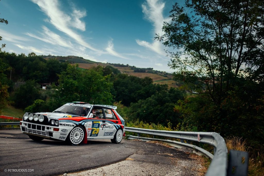 Lancia at the 2020 Rally Legend in San Marino