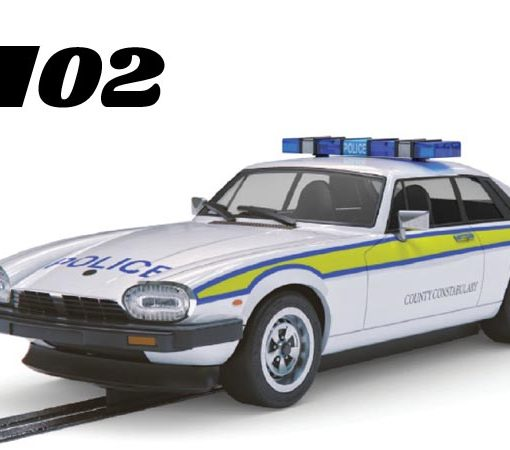 Jaguar XJS police car model