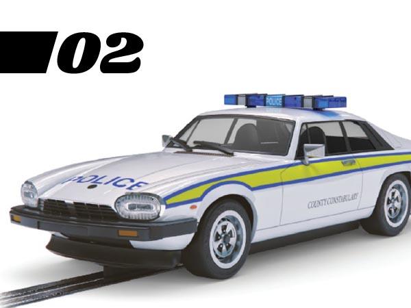 Jaguar XJS police car model
