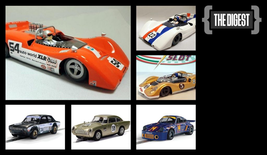 New Scalextric and Thunderslot cars