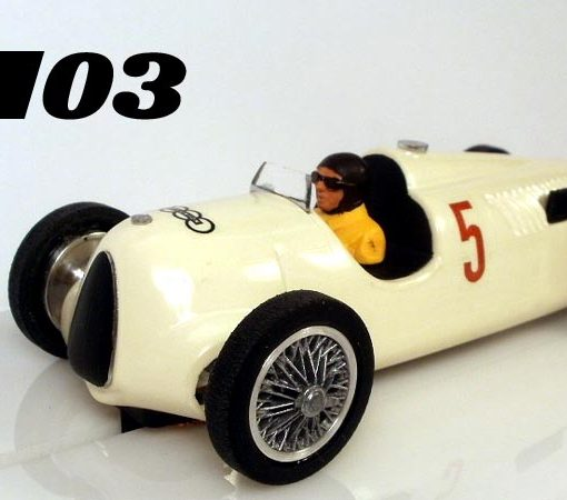 03, Auto Union C-Type slot car