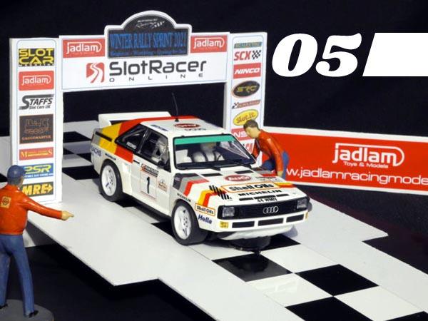05, Rally Sprint start gate