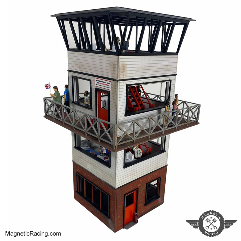 Magnetic Racing race control & spectator tower