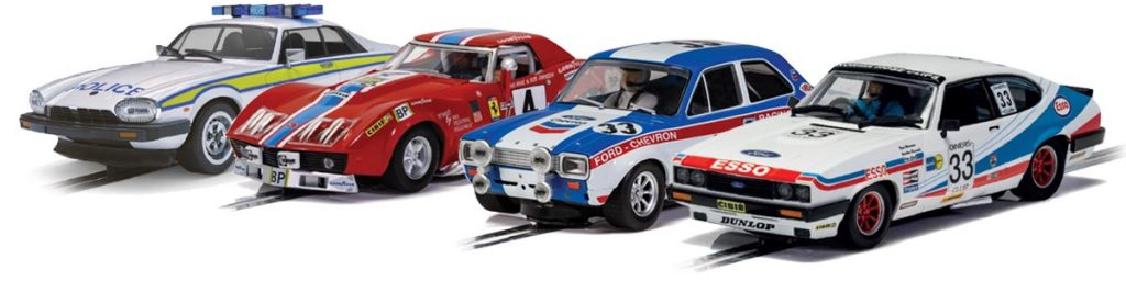 New Scalextric cars for 2021