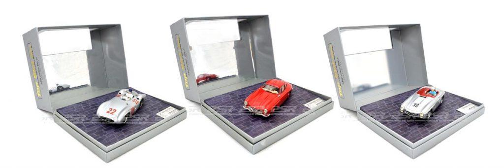Three Top Slot Mercedes slot cars
