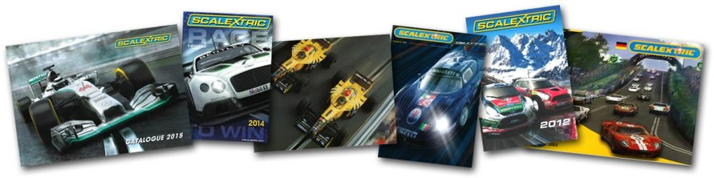 Scalextric catalogues