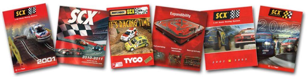 SCX catalogue covers