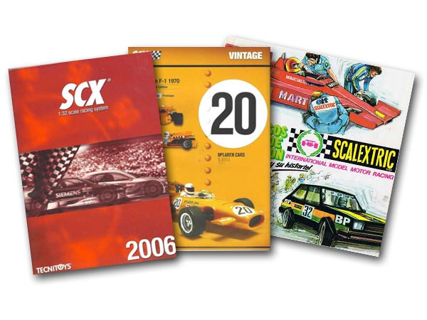 SCX catalogue covers