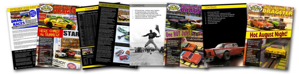 HO Proxy Dragster pages
