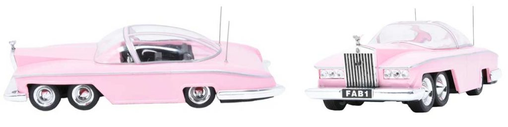 Lady Penelope's Pink Rolls Royce from Thundrbirds