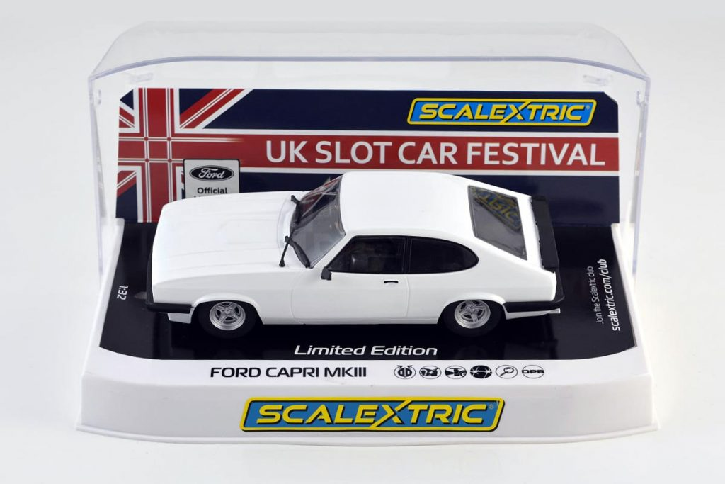 Ford Capri MkIII in white
