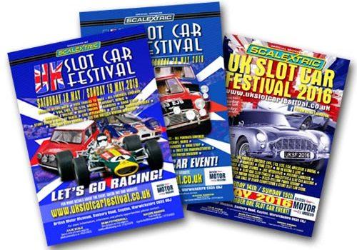 UK Slot Car Festival posters