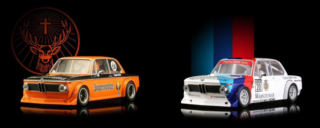 Two BRM BMW 2002Ti