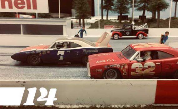 Digest 14, Carrera Nascars on track