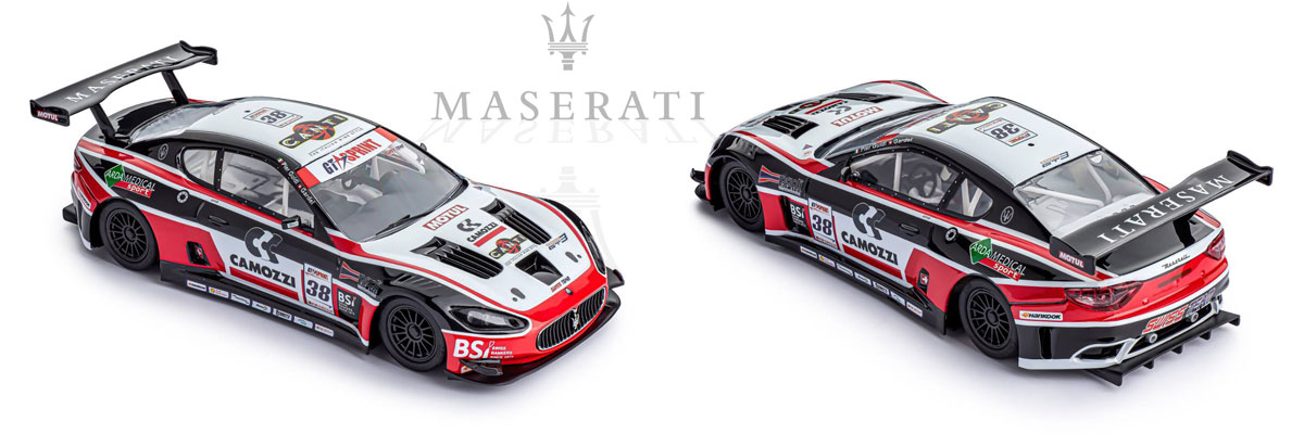 Slot.it Maserati GT3 in black red & white