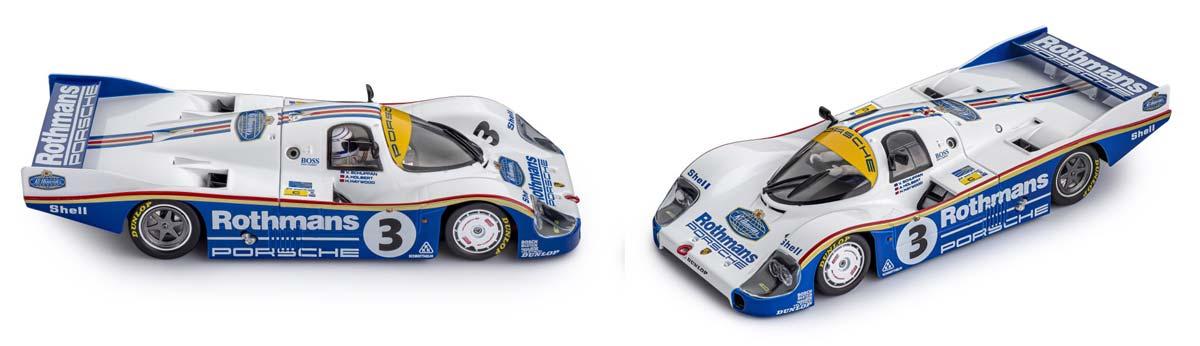 Rothmans sponsored Slot.it Porsche 956C LH - Le Mans Winner 1983