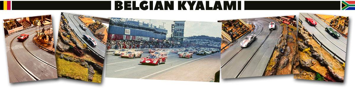 A recreation of the Kyalami Circuit