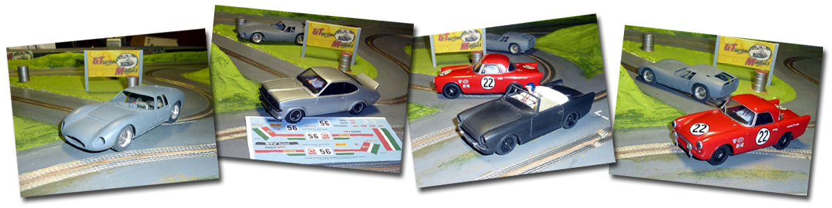 New models from George Turner, a Maserati, a Sunbeam, and a Vauxhall