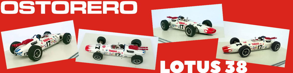 Osterero Lotus 38 in white and red